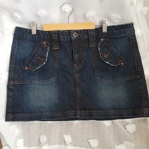 Old navy Denim skirt low waist 12